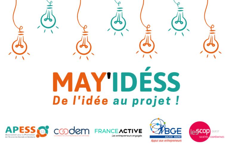 May'idESS : création de visuel pour le programme d'incubation de l'APESS 53