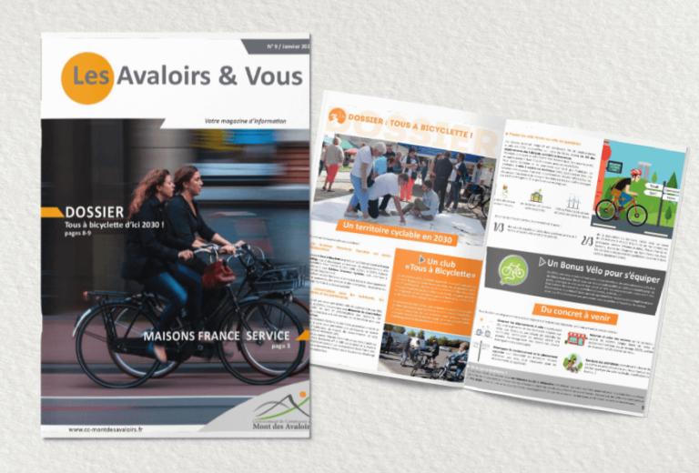 Magazine intercommunal de la Communauté de Communes du Mont des Avaloirs