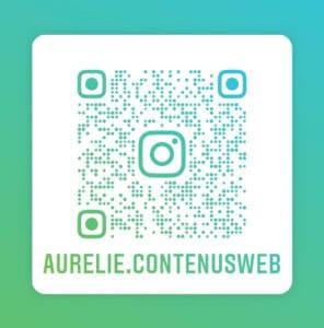 QR Code Instagram Aurélie Bordereau